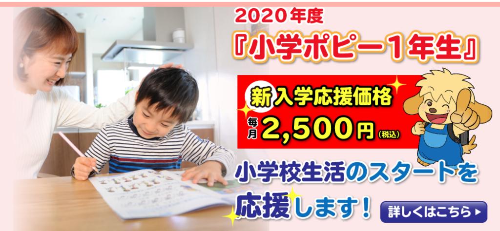 幼児ポピー キャンペーン