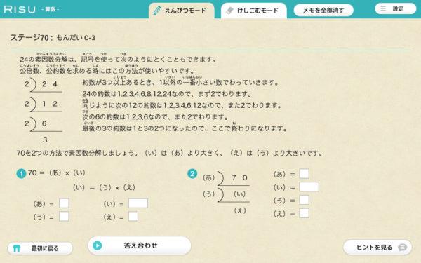 RISU算数問題2